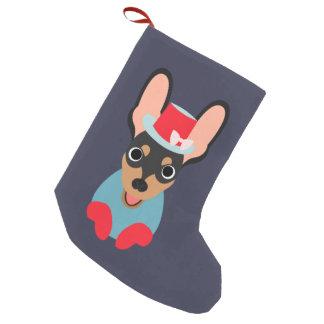 Fun Min Pin Christmas Holiday Stocking Small Christmas Stocking