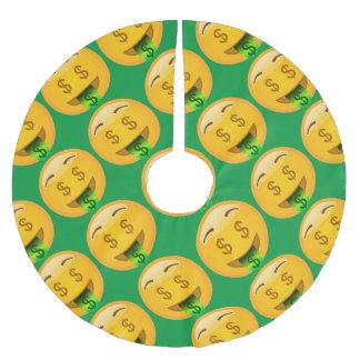 Fun Money Emoji Brushed Polyester Tree Skirt