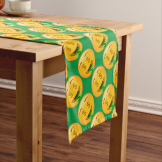 Fun Money Emoji Short Table Runner