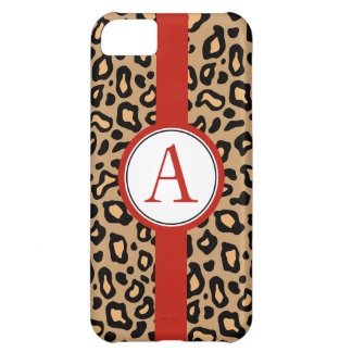 Fun Monogrammed Leopard iPhone 5 Case Mate