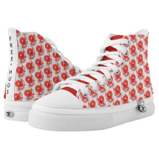 FUN MONSTER HIGH TOPS WITH FREE HUGS