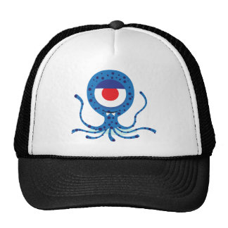Fun Monster Squid Design Trucker Hat