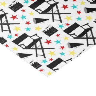 Fun Movie party pattern tissue Tissue Paper