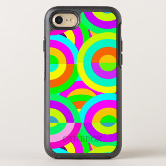 Fun multicolor vivid colors OtterBox symmetry iPhone 8/7 case