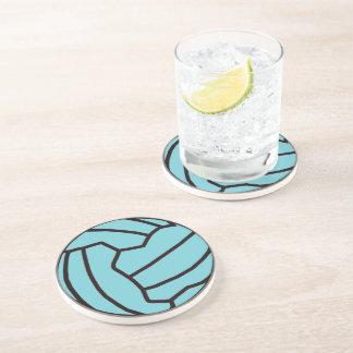 Fun Netball Themed Ball Design Coasters