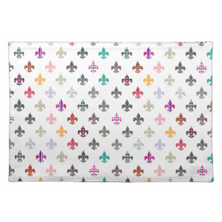 Fun Novelty Fleur de Lis Pattern Placemat