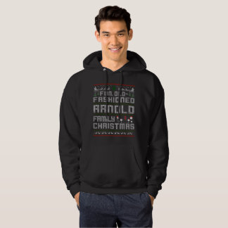 fun old fashioned, arnold  family christmas hoodie