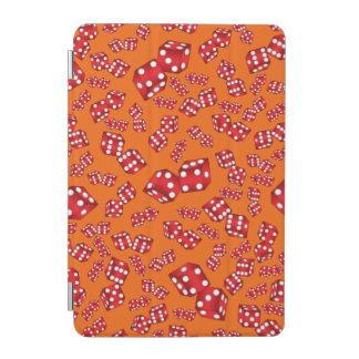 Fun orange dice pattern iPad mini cover