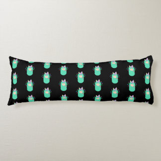 Fun Party Emoji Llama Body Pillow