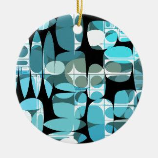 Fun Pattern 06 Ceramic Ornament