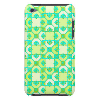 Fun Pattern in Green and Yellow iPod Touch Case-Mate Case