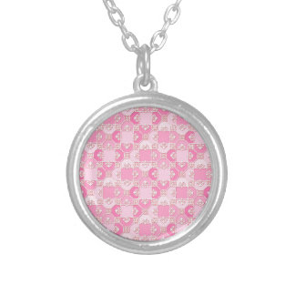 Fun Pattern in Pinks Pendant