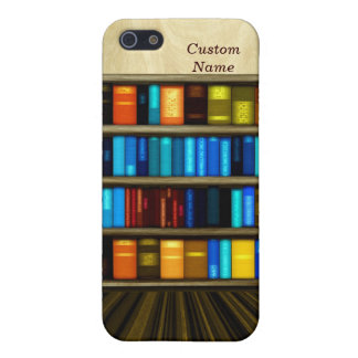 Fun Personal Bookcase Case For iPhone5C iPhone 5/5S Cover