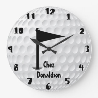 Fun Personalized Golf Clock
