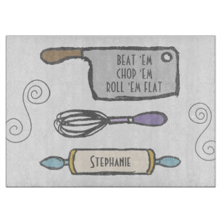 Fun Personalized Kitchen Tools Boards