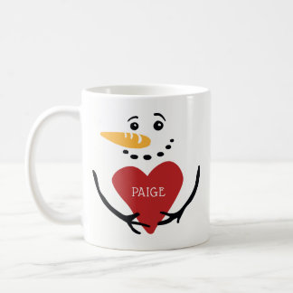 Fun Personalized Snowman Coffee Mug