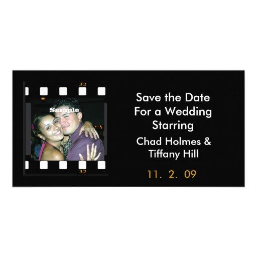 Fun Photo Film Save the Date Card Photo Cards