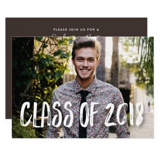 Fun Photo Graduation Announcement Class of 2018