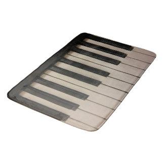 Fun Piano Keys Picture Design Bath Mat