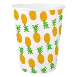 Fun pineapple Pattern paper cups Paper Cup