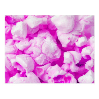 Fun Pink Popcorn Postcard for Any Occasion