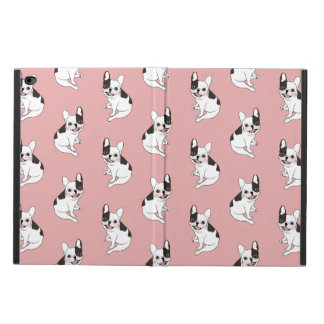 Fun playtime for the Single hooded pied Frenchie Powis iPad Air 2 Case
