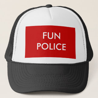 FUN POLICE TRUCKER HAT