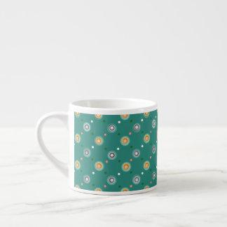 Fun Polka Dot Pattern Espresso Cup