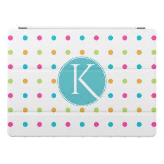 Fun Polka Dots Monogrammed iPad Pro 12 Smart Cover