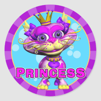 Fun Princess Stickers