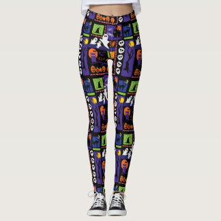 Fun Print Halloween Leggings