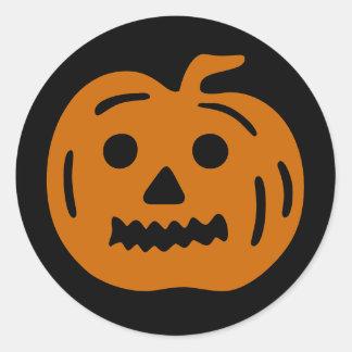 Fun Pumpkin Halloween Sticker
