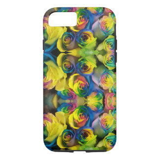 Fun Rainbow Roses Design Case-Mate iPhone Case
