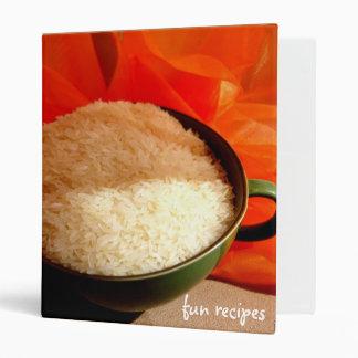 fun recipes binder