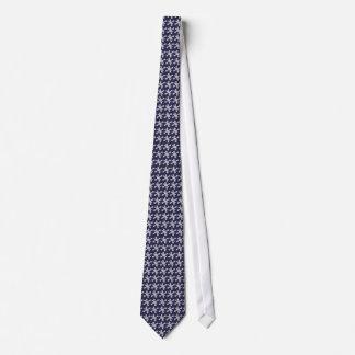 Fun Retro Modern Jacks Pattern Tie