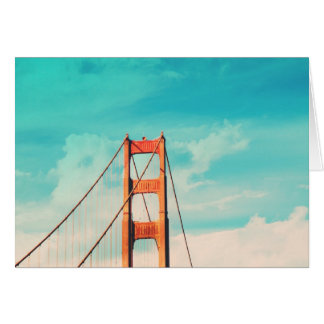 Fun Retro San Francisco Photo Greeting Card