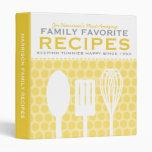 Fun Retro Style Recipes Personalized