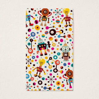Fun robots business card