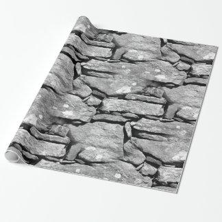 Fun Rock Pattern wrapping paper