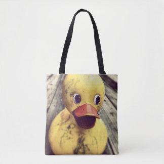 Fun Rubber Ducky Tote Bag