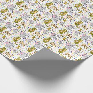 Fun Safari Wrapping Paper