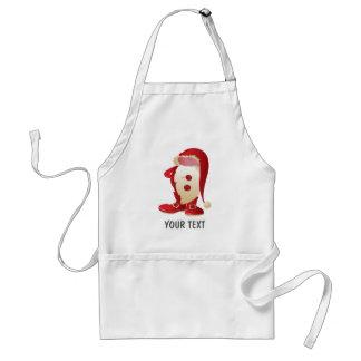fun santa claus christmas standard apron