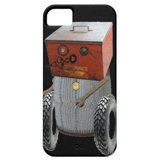 Fun Sci Fi Metal Robot Iphone Case