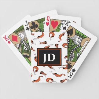 Fun shrimp bicycle poker playing cards