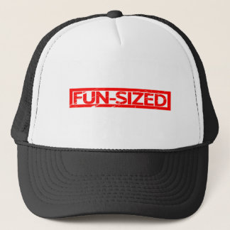Fun-sized Stamp Trucker Hat