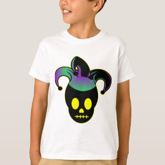 Fun Skull Jester Tattoo T-Shirt