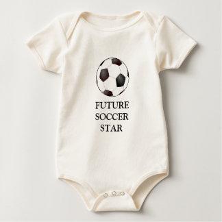 Fun Soccer Ball European Football Graphic Romper