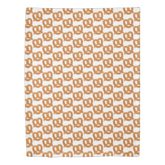 Fun Soft Pretzel Pattern Duvet Cover