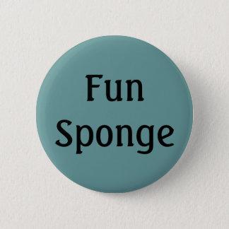 Fun Sponge 2 Inch Round Button