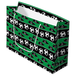 Fun Sports soccer ball pattern party bag